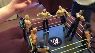 WWE John Cena Roman Reigns Brock Lesnar The Rock Undertaker Showdown!!! With A Special Guest