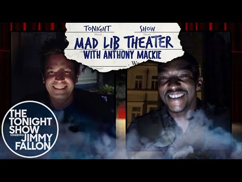 Mad Lib Theater with Anthony Mackie