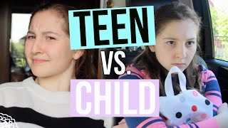 Teen You VS Child You Part 2!