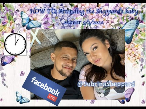 VIRTUAL BABY SHOWER INFO + HOW TO FB LIVE