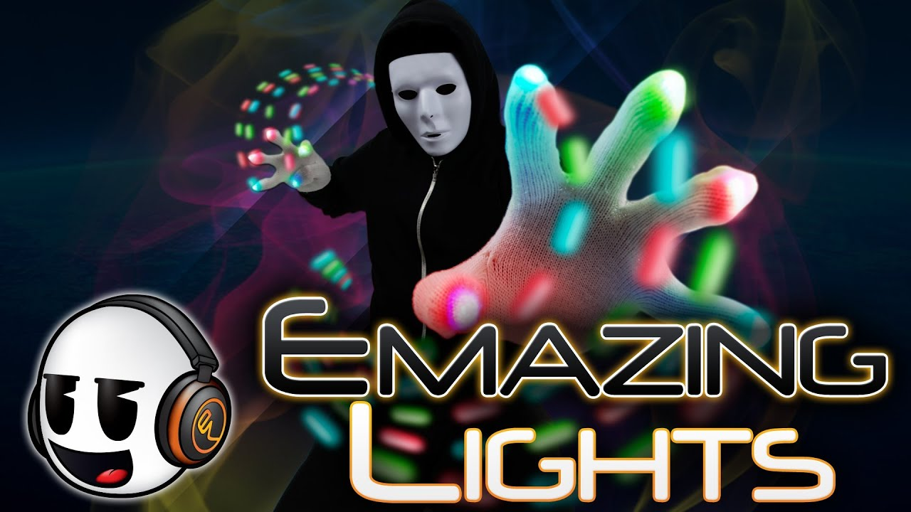 Amazing Lights Emazinglights Commercial Rave Gloves Orbits Apparel