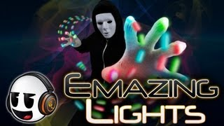 EmazingLights Commercial Rave Gloves - Orbits - Apparel - Lightshows [EmazingLights.com] (HD)