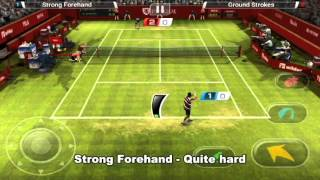 Virtua Tennis Challenge Tips And Tricks - Serve Tricks