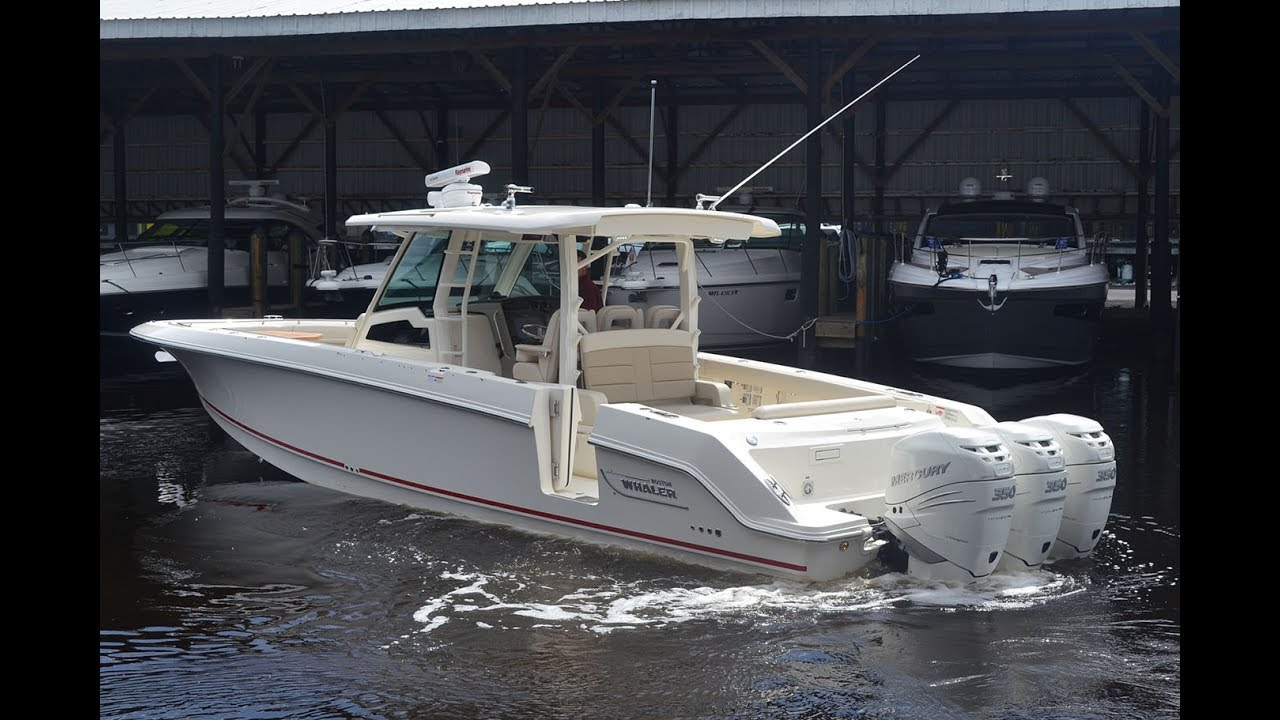 2017 Boston Whaler 380 Outrage For Sale at MarineMax Naples Yacht Center
