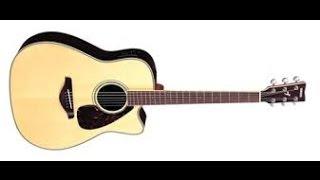 урок игры на гитаре 2 тоже красивая мелодия
