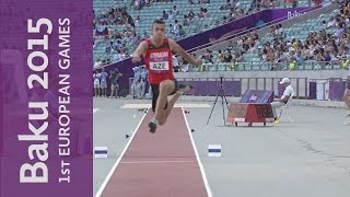 Nazim Babayev wins the Men's Triple Jump | Athletics | Baku 2015 European Games