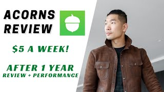 Acorns Review 2021: 1 Year Update