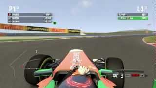 F1 2011 PC Gameplay Campaign Ultra Settings No Assists Hard Difficulty