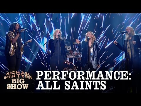All Saints perform Pure Shores  Michael McIntyres Big Show: Episode 6  BBC One