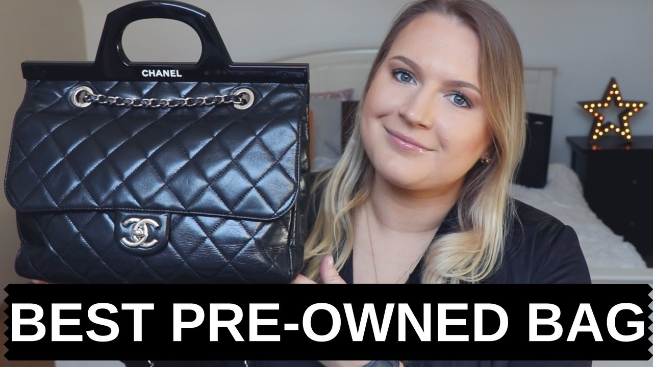 2db11cb6ea9a6c BEST PRE-OWNED BAG TAG /CHANEL HANDBAG / WHAT'S IN MY BAG/ VESTIAIRE  COLLECTIVE