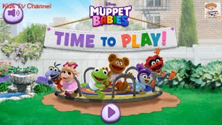 Muppet Babies | Time To Play | Puzzles Toddler Games | Disney Junior App For Kids | Kids TV Channel