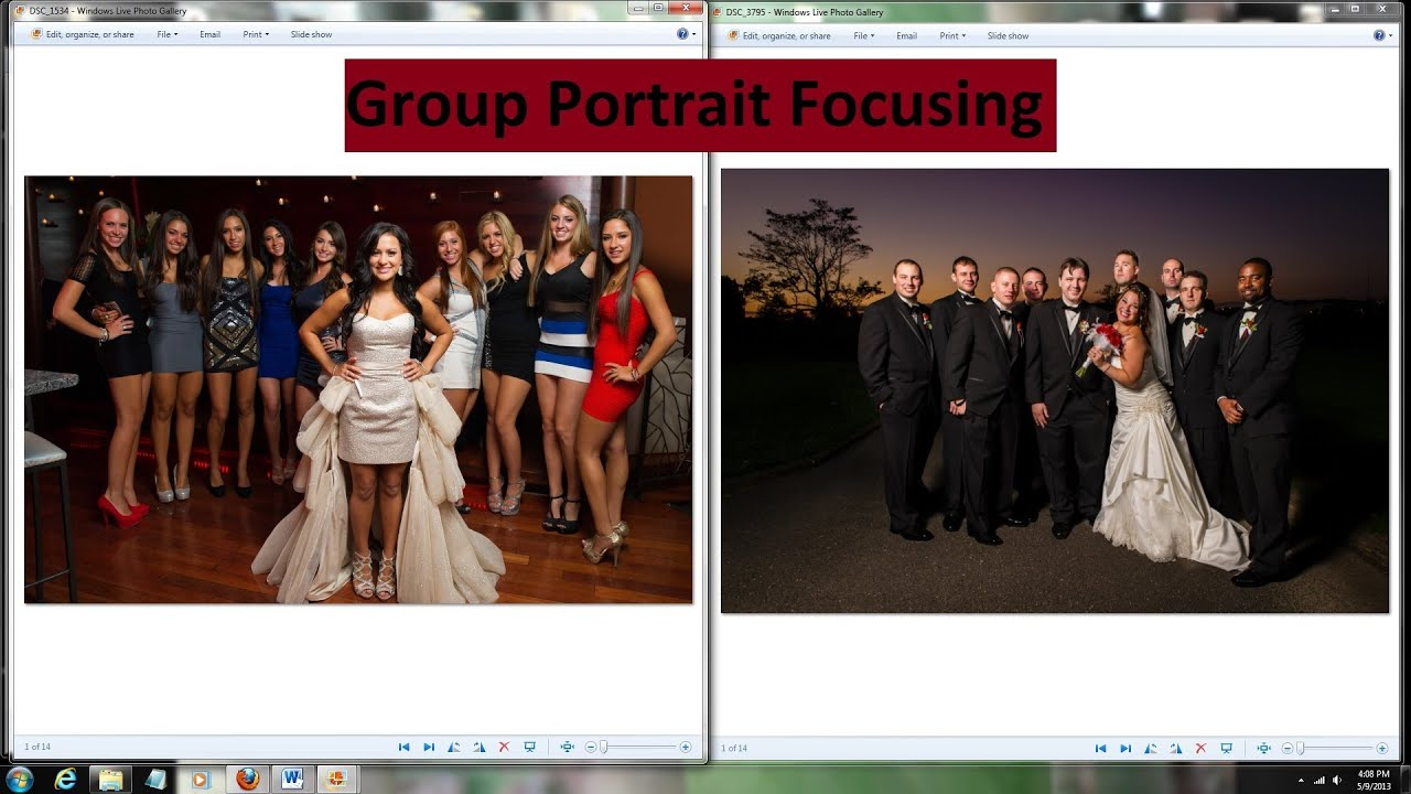 Where to Focus in Group Photos - Group Portrait Tutorial Focusing Tips - YouTube & Where to Focus in Group Photos - Group Portrait Tutorial Focusing ... azcodes.com