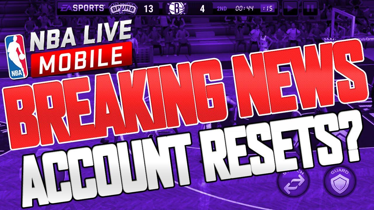 reset live account