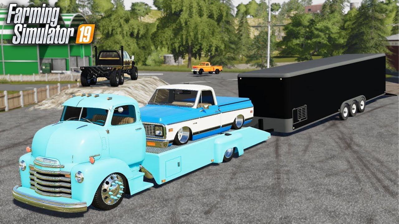 FS19- OLD SCHOOL IS BACK IN STYLE! BUYING 1950's & 1970's CLASSIC
