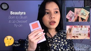 TRY ON - Beautyra Born To Blush &am...