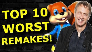 TOP 10 Worst Gaming Remakes!