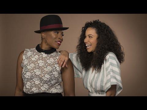Aisha Hinds and Jurnee SmollettBell, a.k.a 'Mosalee'