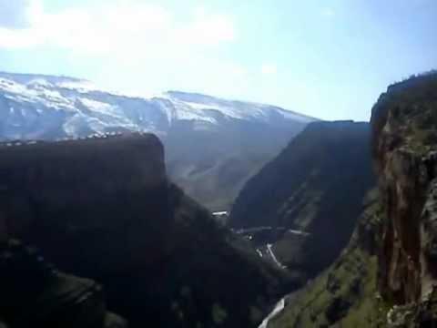 Bird of Prey over Rawanduz Gorge