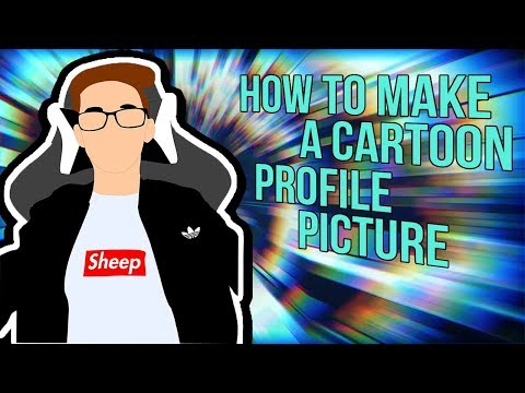 How To Make A Cartoon Character Profile/Avatar PIcture Of Yourself