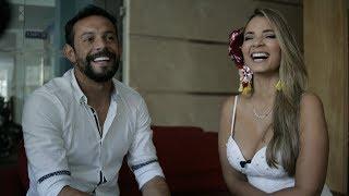Melissa Martínez y el futbolista Matías Mier hablan sobre su relación