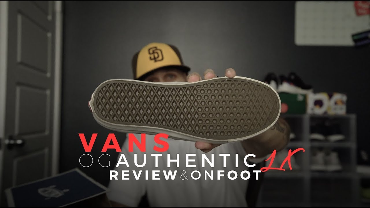 VANS OG AUTHENTIC LX REVIEW   ON FOOT - YouTube 8b726ab3b