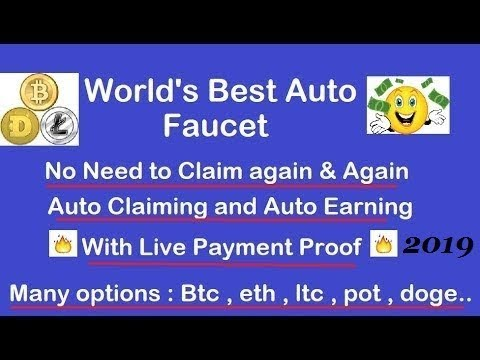 World's best Auto Faucet with Live Payment Proof Auto Work