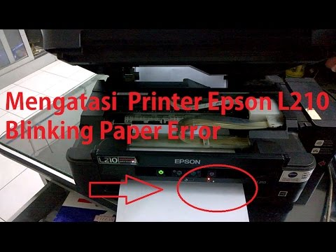 How To Solve Paper Jam Error Epson L210 Must See