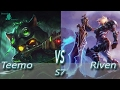 League of Legends - Omega Teemo vs Riven - S7 Ranked Gameplay (Season 7)
