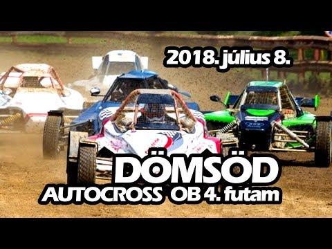 Autocross OB 4. futam - Dömsöd - LIVE