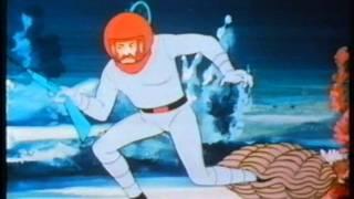 20000 Meilen unter dem Meer German Captain Nemo Jules Verne Cartoon Kapitän Nemo Klassiker