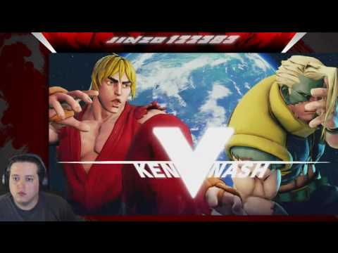 Street Fighter 5 Casual Lobby with ViciousXKronos
