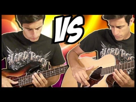 Download Youtube: Guitar Slap vs Bass Slap