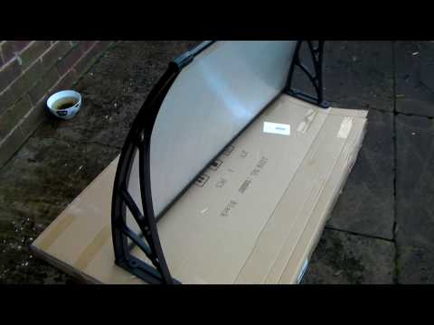 Easy Way of fitting A eBay Bought Door Canopy(One Man) How to