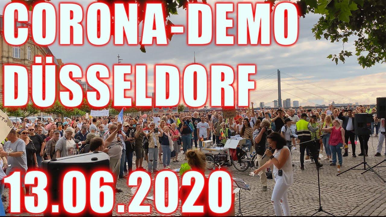 Corona Demo Düsseldorf