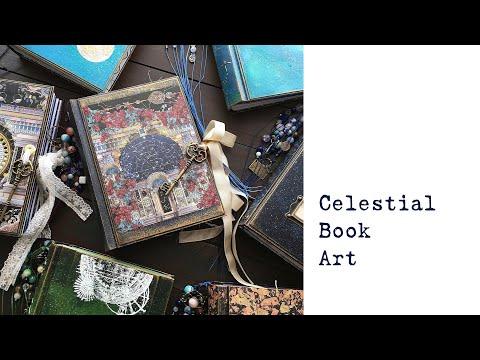NEW Celestial Junk Journal Collection | Handmade Book Art | Etsy Shop Update | Astronomy | Galaxy
