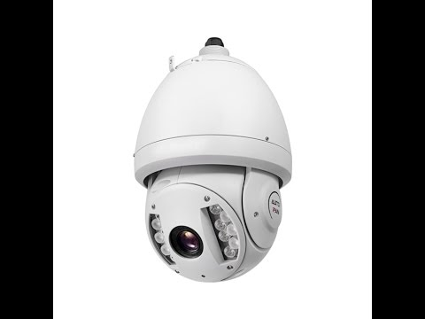 PTZ Camera With 30X Zoom and Infrared Night Vision
