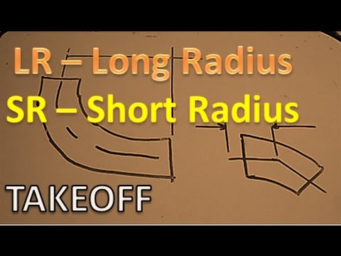 Pipefitter degrees lr long radius sr short takeoff inch to also rh youtube