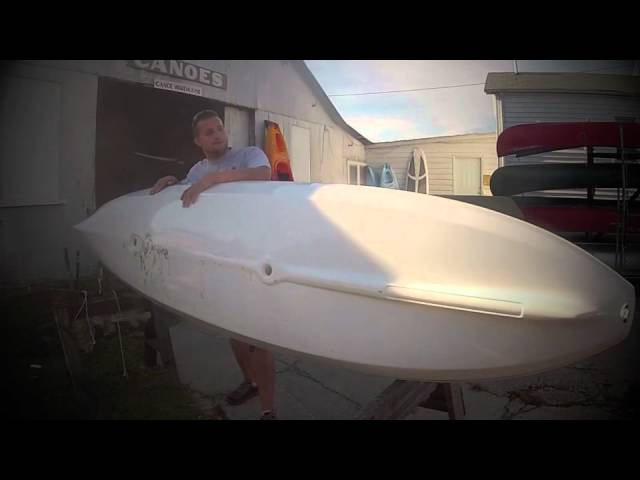 Hurricane Kayaks Skimmer 128 clinic at Appomattox River Company