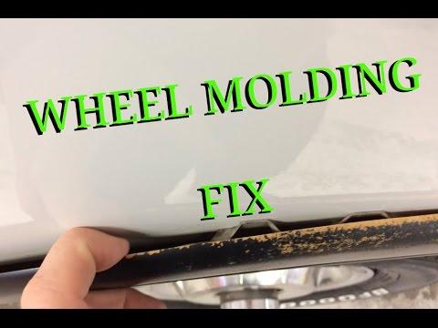 Wheel Well Moldings Falling Off  1st Gen Cummins
