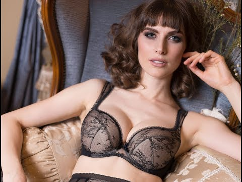 Deep Cleavage Plunge Bra & Vintage Styled High Waist Brief Panty. Sofia By Lavinia Lingerie thumbnail