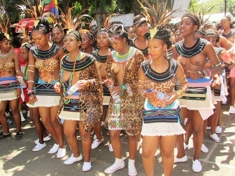 The beautiful tribal women of South Africa: Ndebele, Xhosa, Zulu, Basotho, Venda, Tsonga, Tswana