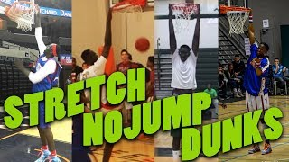 Basketball Stretch No-jump Dunk -  Basketball Giants