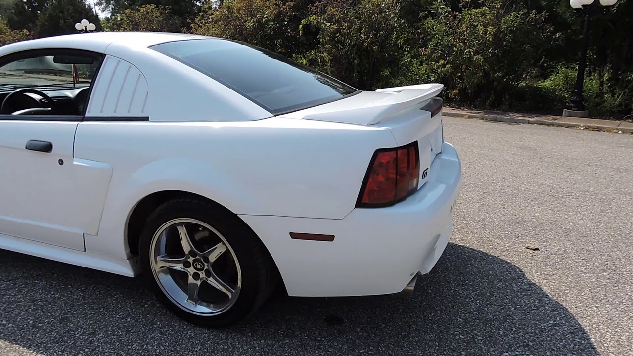 1999 ford mustang gt white for sale at www coyoteclassics com