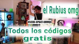 El RubiusOMG |Todos los códigos de descarga del nuevo vídeo  (son de Steam pc)