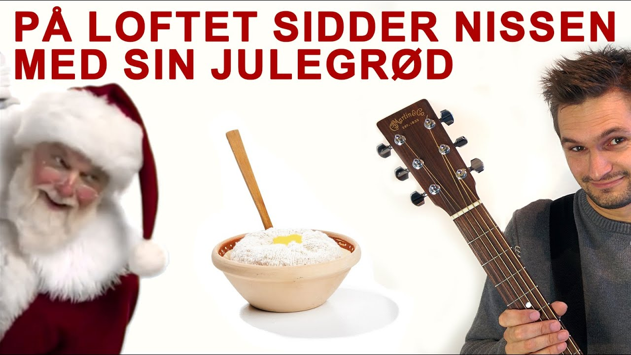 Lær 'På loftet sidden nissen...' på guitar