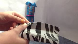 How To Make A Dressing Gown/coat For Origami Dresses Or Pyjamas