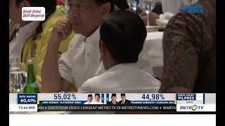 Jokowi Mulai Rileks Melihat Hasil Quick Count