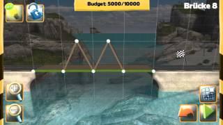 Bridge Constructor - Bridge 8 - Westlands - Walkthrough