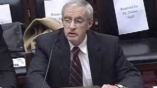 "March 8, 2011 - A Hearing on ""Climate Science and EPA"