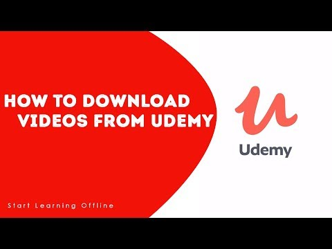 How To Download Videos From Udemy For Offline Viewing